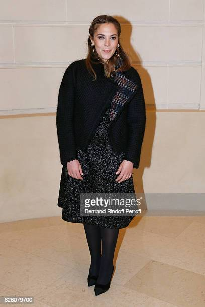 Actress Alysson Paradis attends the 'Chanel Collection des Metiers d'Art 2016/17 Paris Cosmopolite' Photocall at Hotel Ritz on December 6 2016 in...