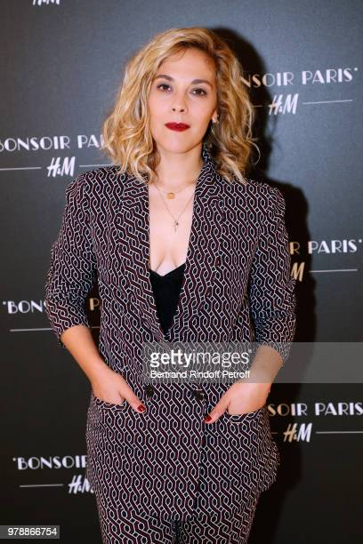 Actress Alysson Paradis attends the HM Flaship Opening Party as part of Paris Fashion Week on June 19 2018 in Paris France