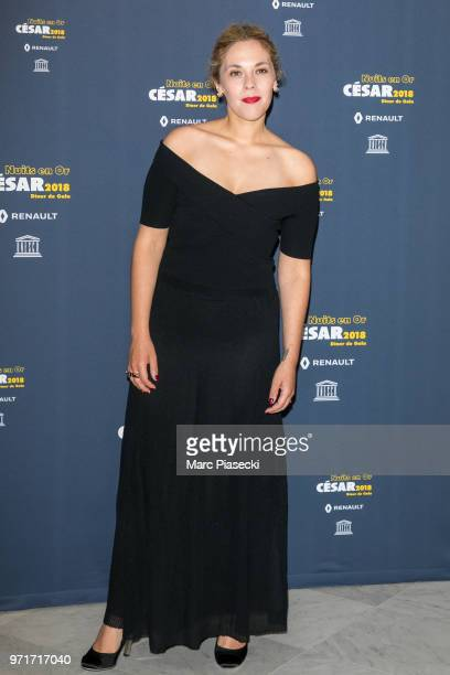 Actress Alysson Paradis attends the 'Les Nuits En Or 2018' dinner gala at UNESCO on June 11 2018 in Paris France