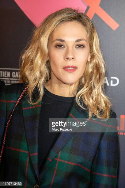 Actress Alysson Paradis attends the 'Par Amour' charity gala at Mairie de Paris on February 14 2019 in Paris France