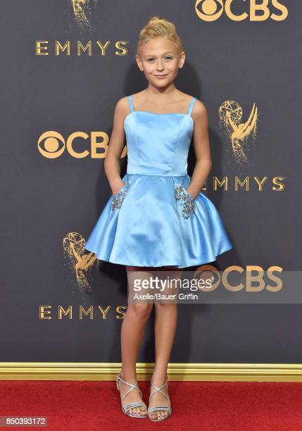 Actress Alyvia Alyn Lind arrives at the 69th Annual Primetime Emmy Awards at Microsoft Theater on September 17 2017 in Los Angeles California