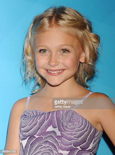 Actress Alyvia Alyn Lind attends Day 2 of the NBCUniversal press tour 2015 at the Beverly Hilton Hotel on August 13 2015 in Beverly Hills