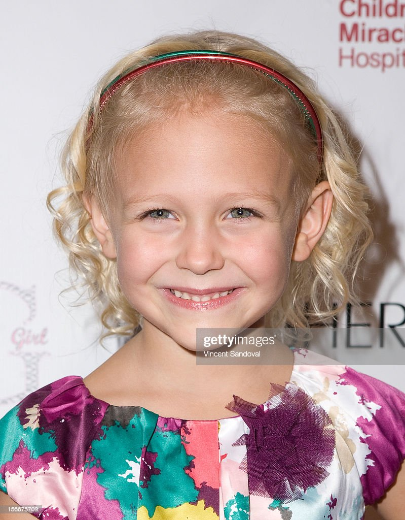 Actress Alyvia Alyn Lind attends the 2nd Annual Dream Magazine Winter Wonderland Party on November 18, 2012 in Los Angeles, California.