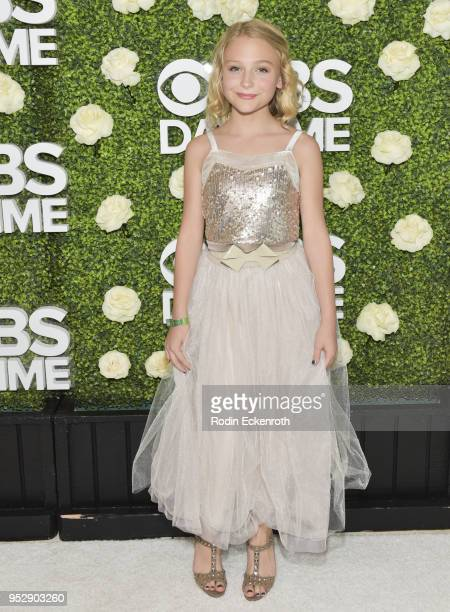 Actress Alyvia Alyn Lind attends the CBS Daytime Emmy After Party at Pasadena Convention Center on April 29 2018 in Pasadena California