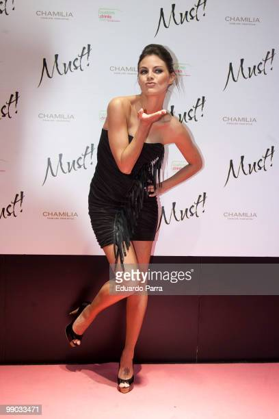 Actress Amaia Salamanca attends Must magazine awards at Telefonica flagship store on May 11, 2010 in Madrid, Spain.