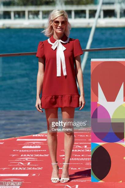 Actress Amaia Salamanca attends '¿Que Te Juegas' photocall during the 22th Malaga Film Festival on March 21 2019 in Malaga Spain