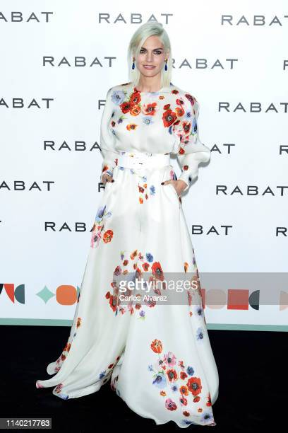 Actress Amaia Salamanca attends Rabat's Jewellry new collection presentation at Bless Hotel on April 03 2019 in Madrid Spain