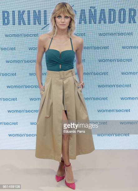 Actress Amaia Salamanca attends the 'Women'Secret' photocall at Mr Fox space on April 26 2018 in Madrid Spain