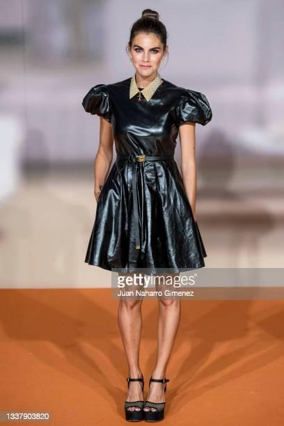 Actress Amaia Salamanca attends 'Todos Mienten' photocall at Palacio de Congresos Europa during the FesTVal 2021 on September 02, 2021 in...