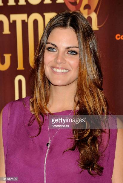 Actress Amaia Salamanca attends 'Union de Actores' awards at the Price Circus on March 29 2010 in Madrid Spain