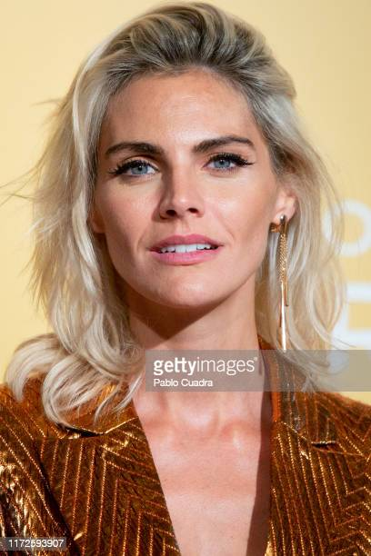 Actress Amaia Salamanca attends 'Vivir Dos Veces' premiere at Capitol cinema on September 05 2019 in Madrid Spain