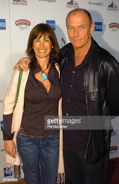 Actress Amana Pays and actor Corbin Bernsen arrive at the HD Buttercup Grand Opening Celebrity Treasure Hunt at the HD Buttercup at the Helms Bakery...