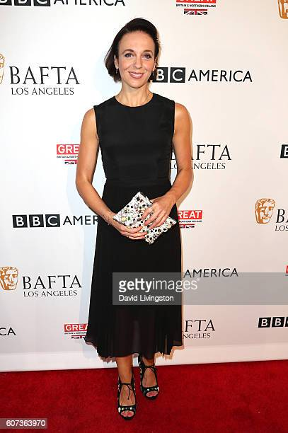 Actress Amanda Abbington arrives at BAFTA Los Angeles BBC America TV Tea Party at The London Hotel on September 17 2016 in West Hollywood California