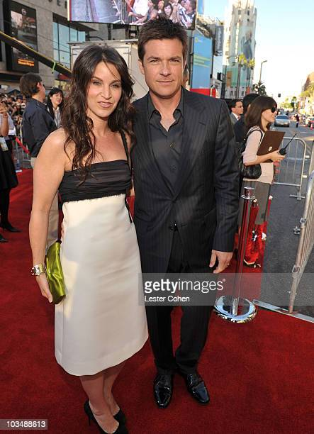 Actress Amanda Anka and actor Jason Bateman arrive at the World Premiere of Columbia Pictures Hancock at Grauman's Chinese Theatre on July 30 2008 in...
