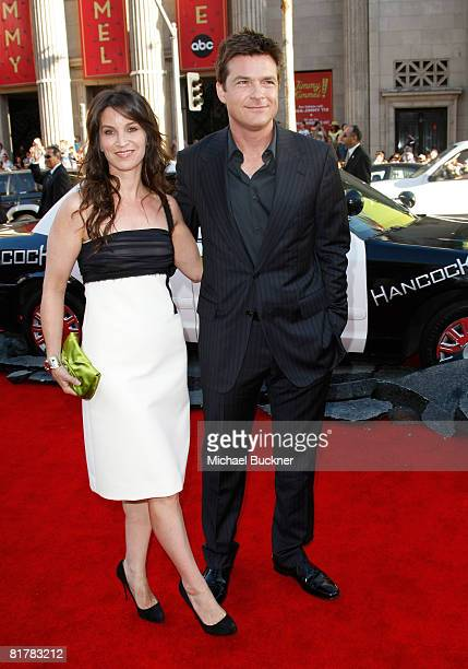 Actress Amanda Anka and actor Jason Bateman arrive to the Premiere of Sony Pictures' 'Hancock' at Grauman's Chinese Theatre on June 30 2008 in...