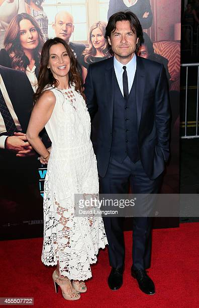 Actress Amanda Anka and husband actor Jason Bateman attend the premiere of Warner Bros Pictures' This Is Where I Leave You at the TCL Chinese Theatre...