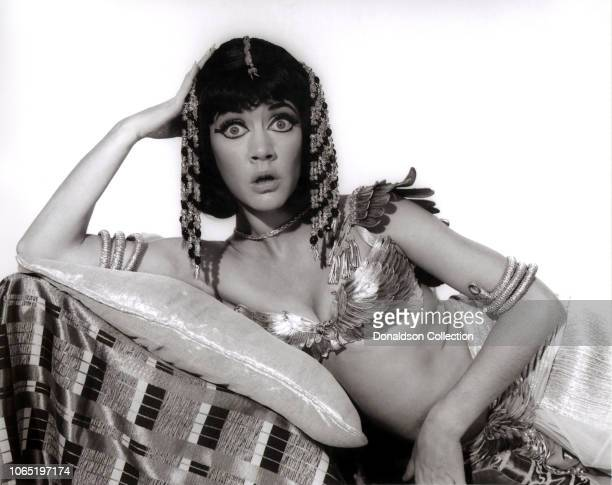 Actress Amanda Barrie in a scene from the movieCarry On Cleo