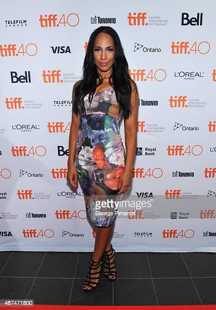 Actress Amanda Brugel attends the 2015 Toronto International Film Festival 4th Annual Festival KickOff Fundraising Soiree at TIFF Bell Lightbox on...