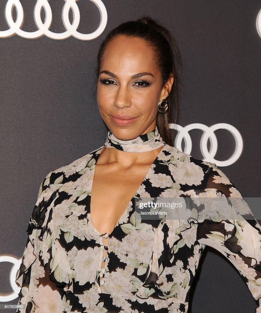 Actress Amanda Brugel attends the Audi celebration for the 69th Emmys at The Highlight Room at the Dream Hollywood on September 14, 2017 in Hollywood, California.