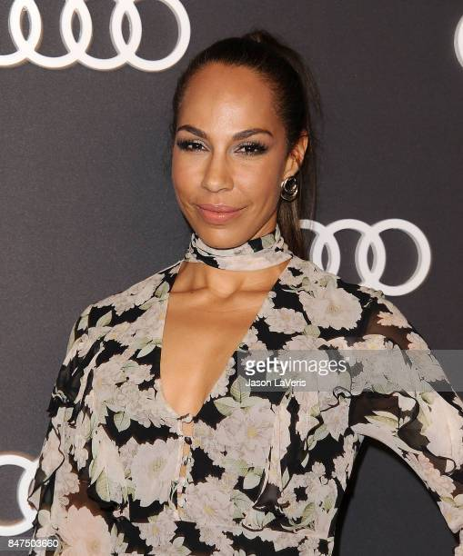 Actress Amanda Brugel attends the Audi celebration for the 69th Emmys at The Highlight Room at the Dream Hollywood on September 14 2017 in Hollywood...