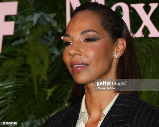 Actress Amanda Brugel attends the Max Mara WIF Face Of The Future event at the Chateau Marmont on June 12 2018 in Los Angeles California