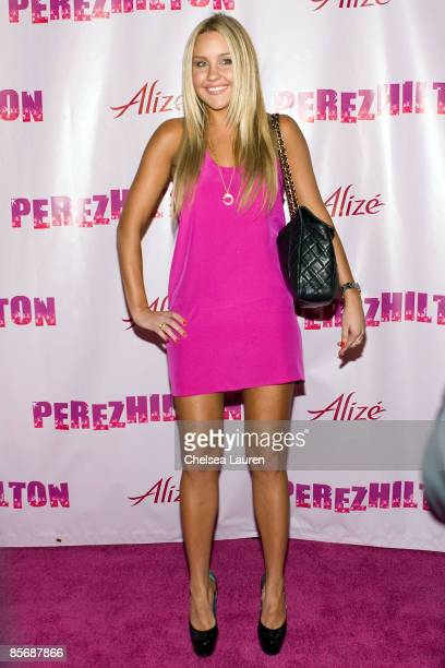 Actress Amanda Bynes arrives at Perez Hilton's 31st Birthday Party at The Viper Room on March 28 2009 in Hollywood California
