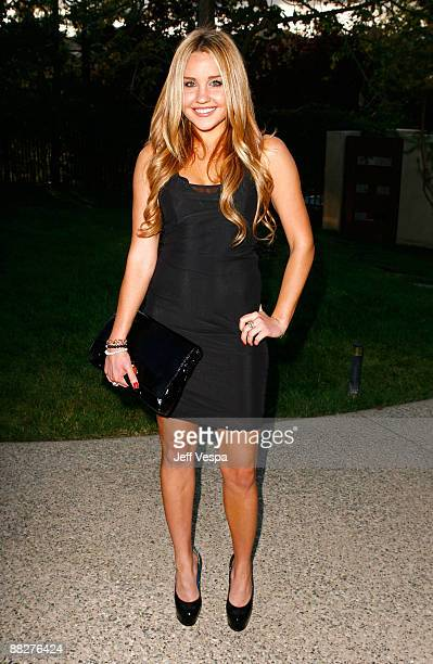 Actress Amanda Bynes arrives at the 8th annual Chrysalis Butterfly Ball held at a private residence on June 6 2009 in Brentwood California