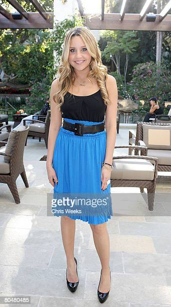 """Actress Amanda Bynes attends a party hosted by Seventeen Magazine for the launch of """"Dear"""" for Steve & Barry's at the Sunset Marquis on April 1, 2008..."""