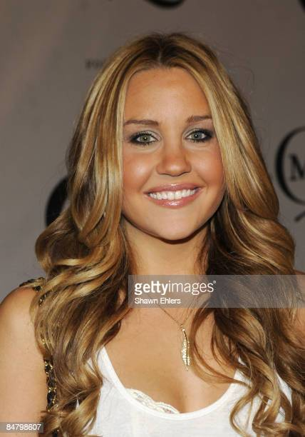 Actress Amanda Bynes attends the McQ Alexander McQueen for Target launch party at St John's Center on February 13 2009 in New York City