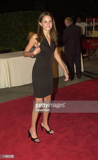 Actress Amanda Bynes attends the premiere of 'Hardball' September 10 2001 at Paramount Studios in Hollywood CA
