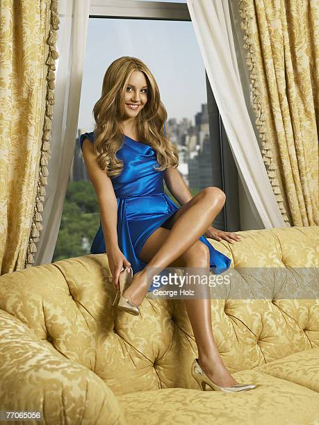 Actress Amanda Bynes is photographed for OK Magazine on May 30 2007 in New York City