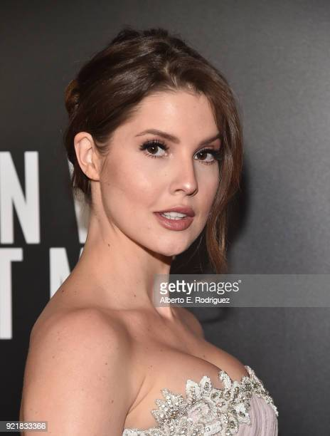 Actress Amanda Cerny attends a special screening of Netflix's 'When We First Met' at ArcLight Hollywood on February 20 2018 in Hollywood California