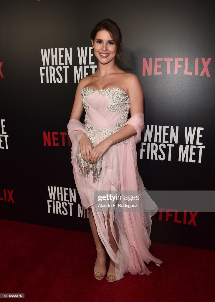 Actress Amanda Cerny attends a special screening of Netflix's 'When We First Met' at ArcLight Hollywood on February 20, 2018 in Hollywood, California.