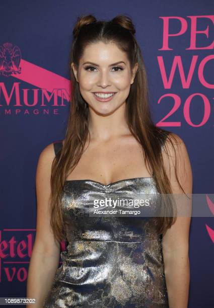 Actress Amanda Cerny attends the 2019 Pegasus World Cup at Gulfstream Park on January 26 2019 in Hallandale Florida