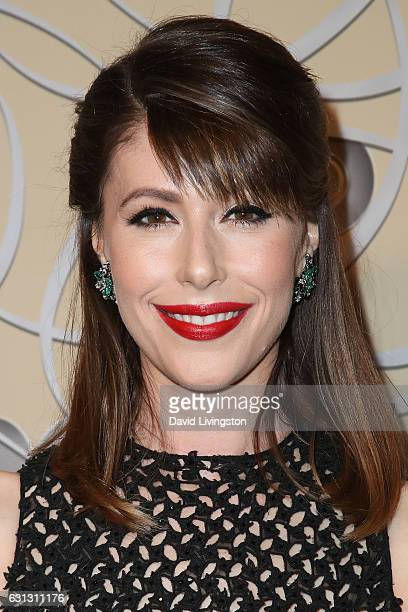 Actress Amanda Crew arrives at HBO's Official Golden Globe Awards after party at the Circa 55 Restaurant on January 8 2017 in Los Angeles California