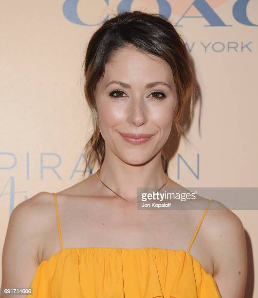 Actress Amanda Crew arrives at the 14th Annual Inspiration Awards at The Beverly Hilton Hotel on June 2 2017 in Beverly Hills California