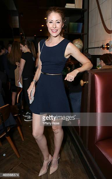 Actress Amanda Crew attends Raising The Bar To End Parkinson's at Public School 818 on March 7 2015 in Sherman Oaks California