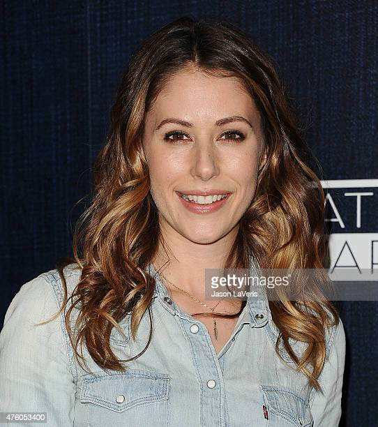 Actress Amanda Crew attends the 12th annual Inspiration Awards to benefit Step Up at The Beverly Hilton Hotel on June 5, 2015 in Beverly Hills,...