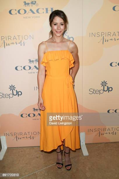 Actress Amanda Crew attends the 14th Annual Inspiration Awards at The Beverly Hilton Hotel on June 2 2017 in Beverly Hills California