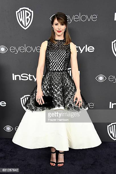 Actress Amanda Crew attends the 18th Annual PostGolden Globes Party hosted by Warner Bros Pictures and InStyle at The Beverly Hilton Hotel on January...