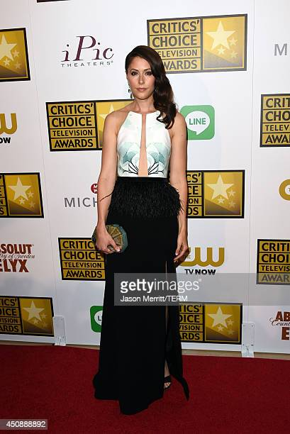 Actress Amanda Crew attends the 4th Annual Critics' Choice Television Awards at The Beverly Hilton Hotel on June 19 2014 in Beverly Hills California