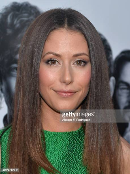 Actress Amanda Crew attends the Premiere of HBO's Silicon Valley at Paramount Studios on April 3 2014 in Hollywood California