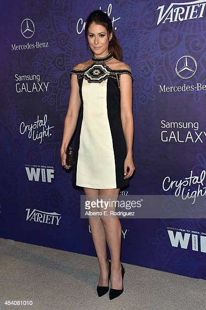 Actress Amanda Crew attends Variety and Women in Film Emmy Nominee Celebration powered by Samsung Galaxy on August 23, 2014 in West Hollywood,...