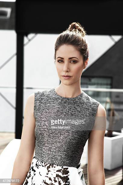 Actress Amanda Crew is photographed for Eide Magazine on January 30 2015 at the Moment Hotel in Los Angeles California PUBLISHED IMAGE