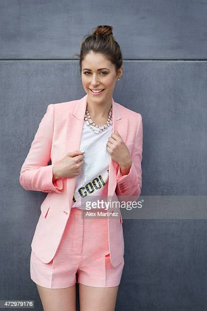 Actress Amanda Crew is photographed for Eide Magazine on January 30 2015 at the Moment Hotel in Los Angeles California