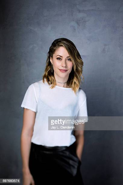 Actress Amanda Crew of 'Silicon Valley' is photographed for Los Angeles Times at San Diego Comic Con on July 22 2016 in San Diego California