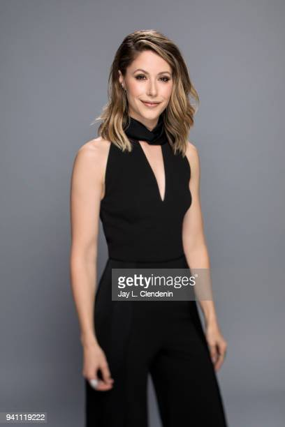 Actress Amanda Crew of 'Silicon Valley', is photographed for Los Angeles Times on March 17, 2018 at the PaleyFest at the Dolby Theatre in Hollywood,...