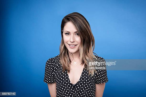 Actress Amanda Crew poses for a portrait at the Tribeca Film Festival on April 17 2016 in New York City