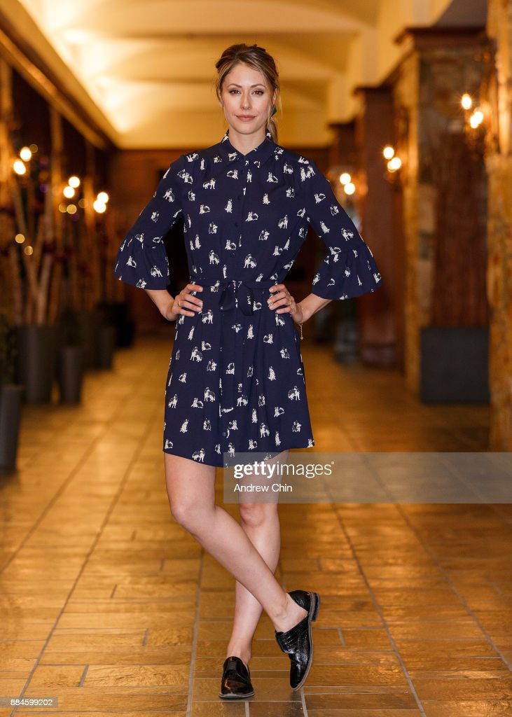 Actress Amanda Crew poses for a portrait during the 17th Annual Whistler Film Festival at the Fairmont Chateau Whistler on December 2, 2017 in Whistler, Canada.
