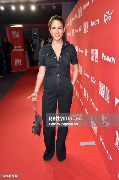 Actress Amanda da Gloria attends the BILD Muenchen Newspaper 50th anniversary party at MTTC IPHITOS on May 3 2018 in Munich Germany